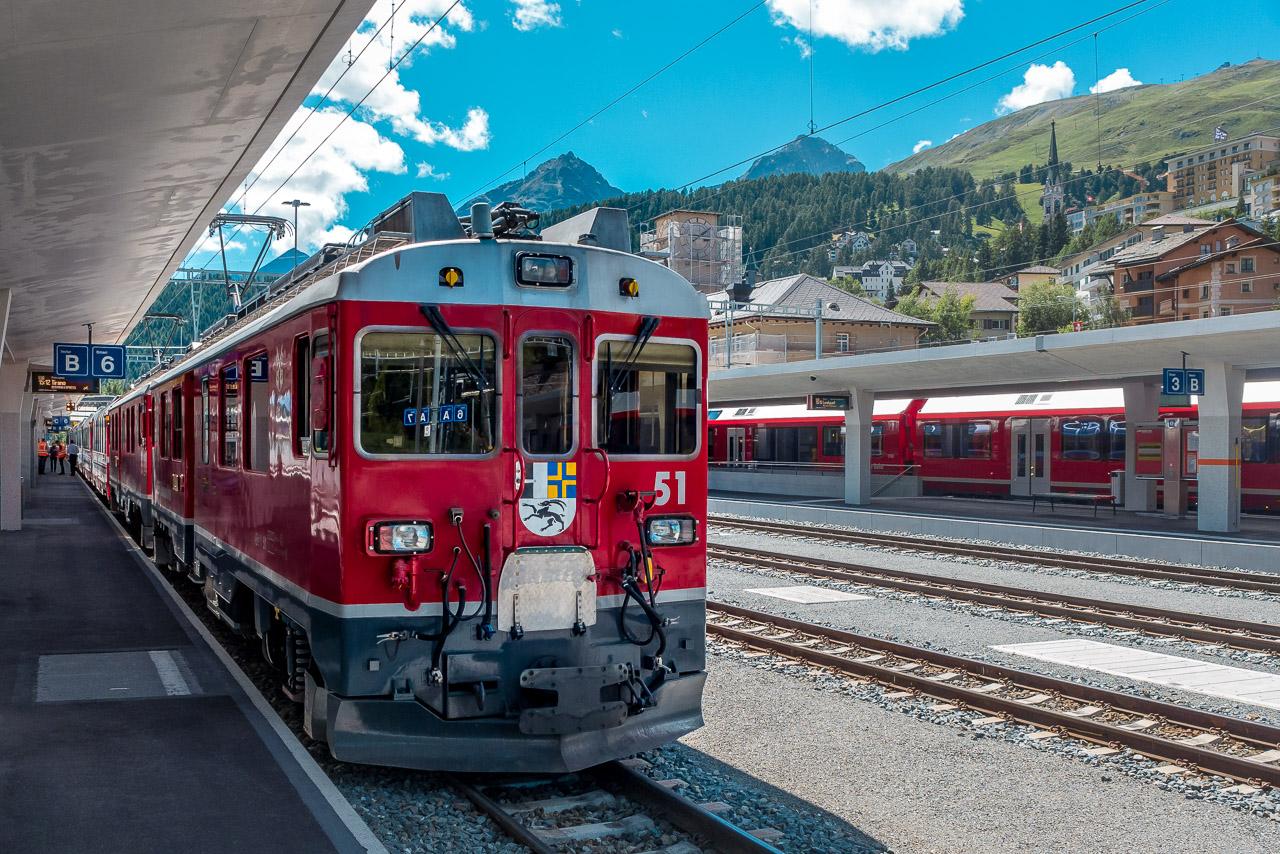 Bernina Express Reservierung