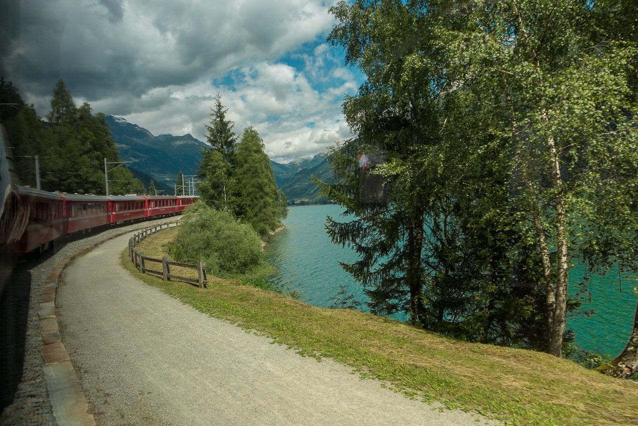 Zug St. Moritz Tirano