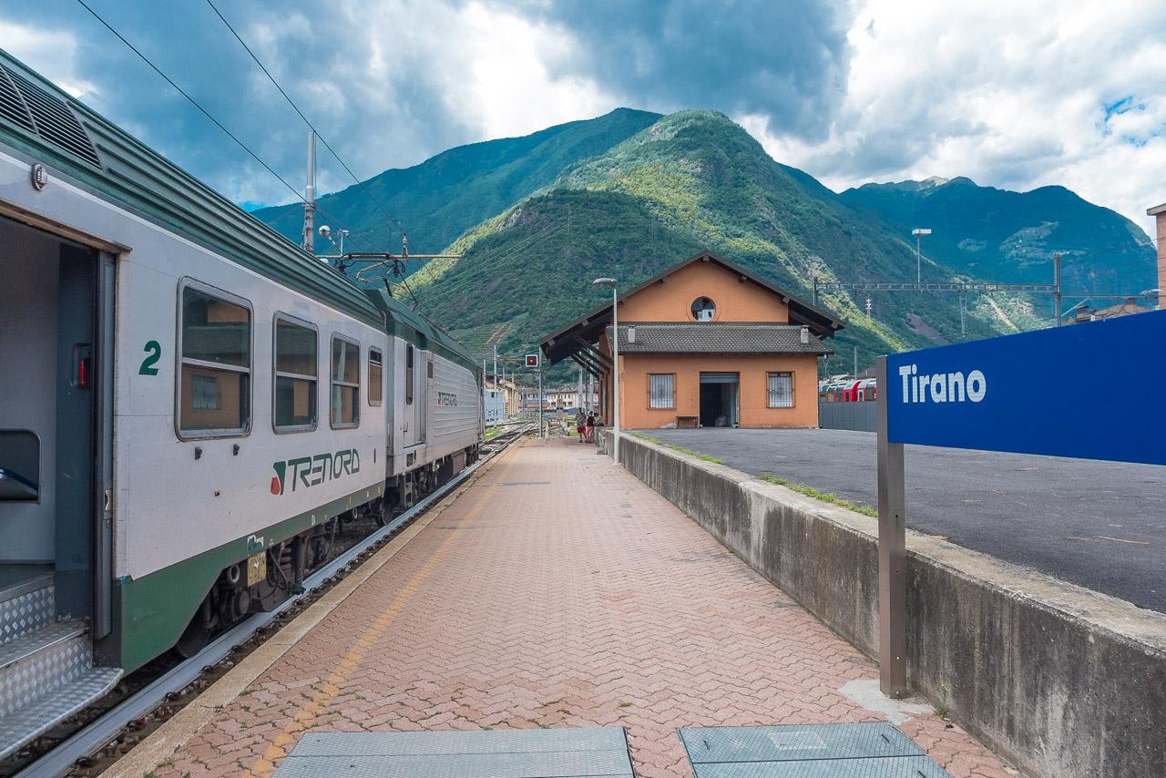 Zug Tirano Mailand