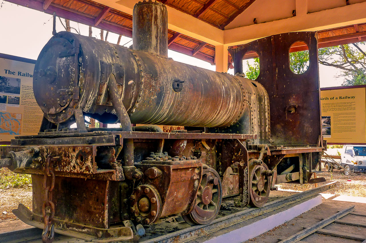 Don Det Laos Eisenbahn.
