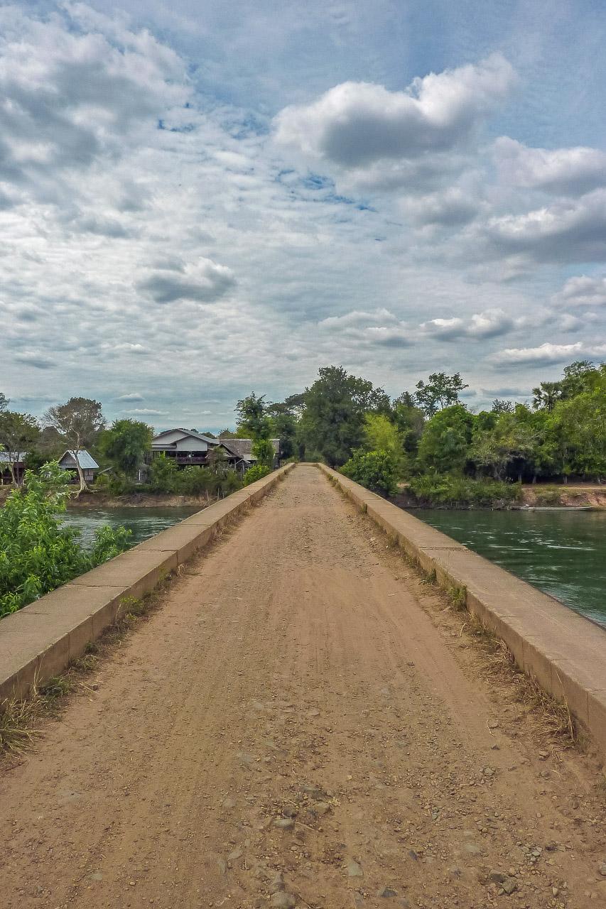 Eisenbahnbrücke Don Det Don Khon