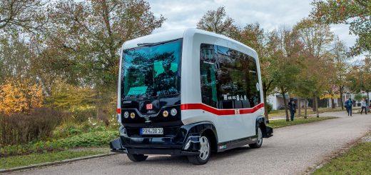 ioki Deutsche Bahn Autonomer Bus