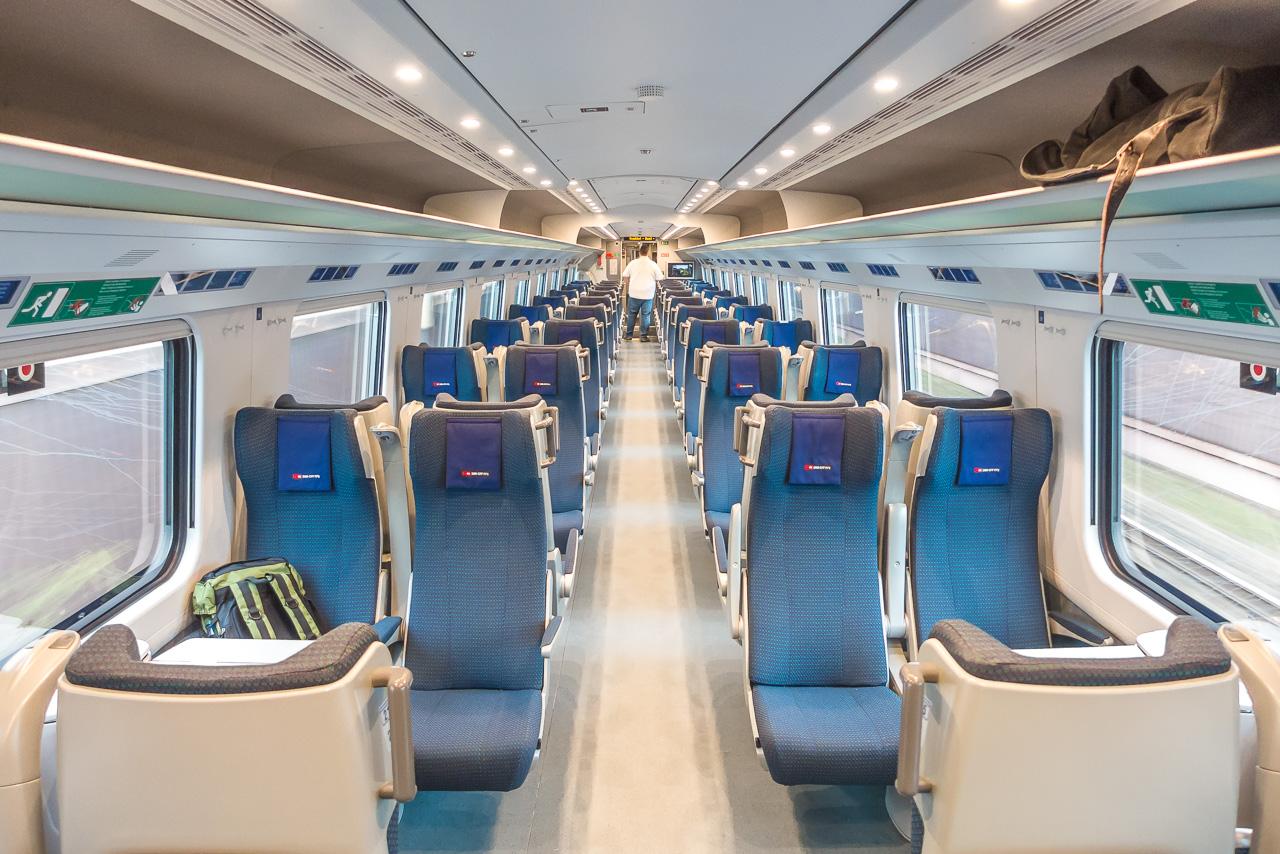 Eurocity Express Ausstattung
