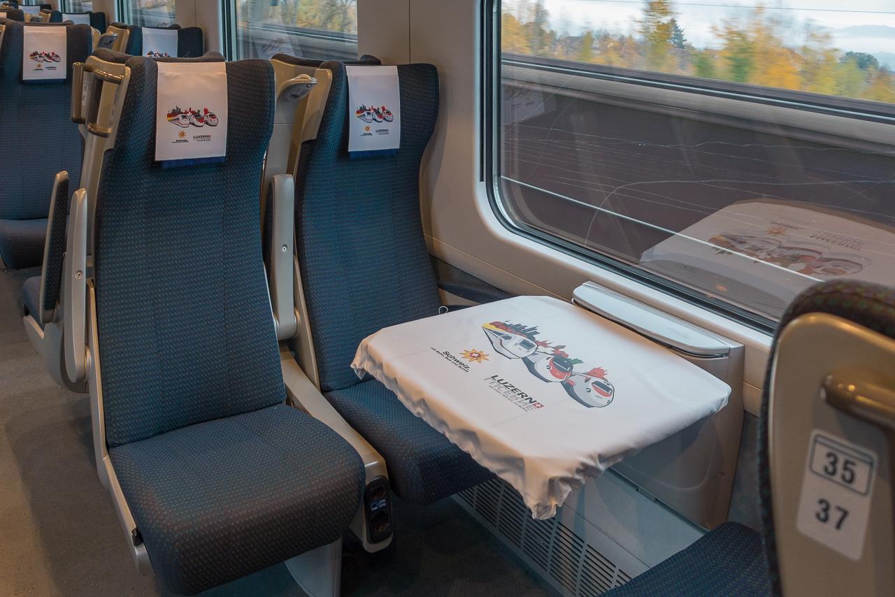 Sitzplatz Reservierung ETR 610