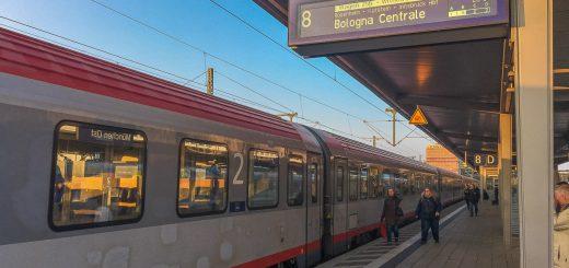 Zug München Italien