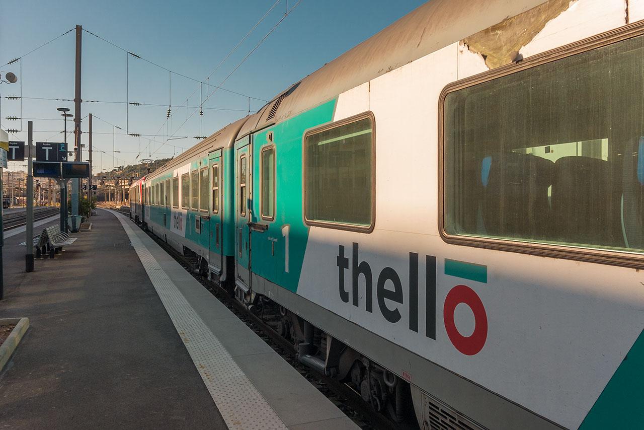 Thello Zug Mailand Nizza Marseille
