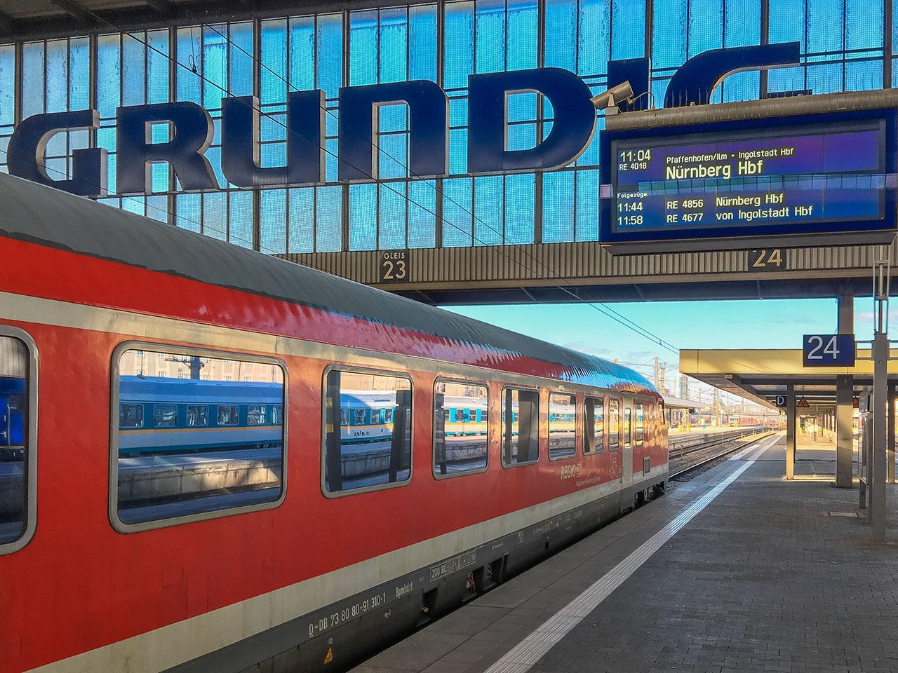 München Nürnberg Express Fahrplan Tickets Buchung