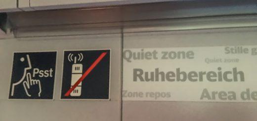 Bahn Ruhebereich