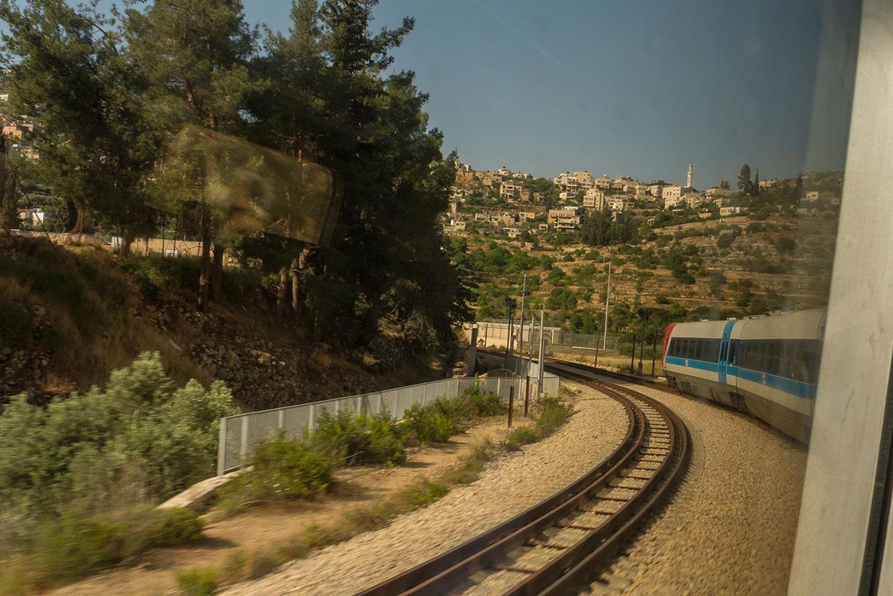 Bahnstrecke Jerusalem Tel Aviv