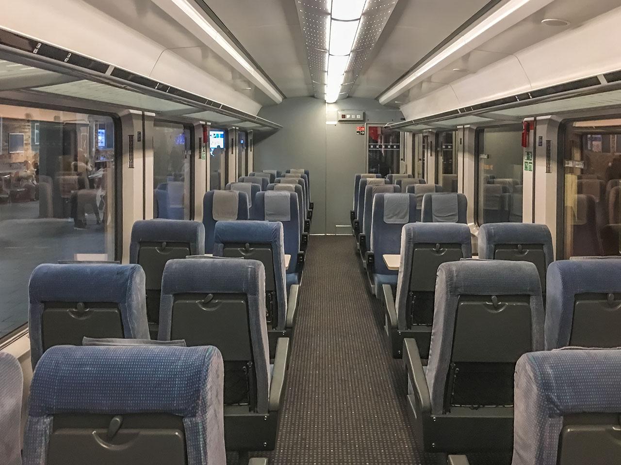München-Nürnberg-Express Ausstattung