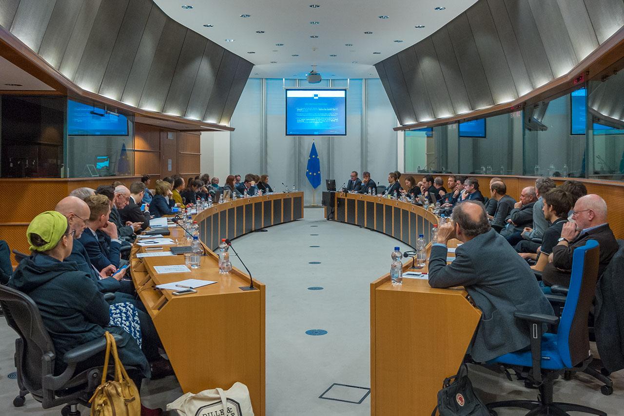 Nachtzug Konferenz Brüssel