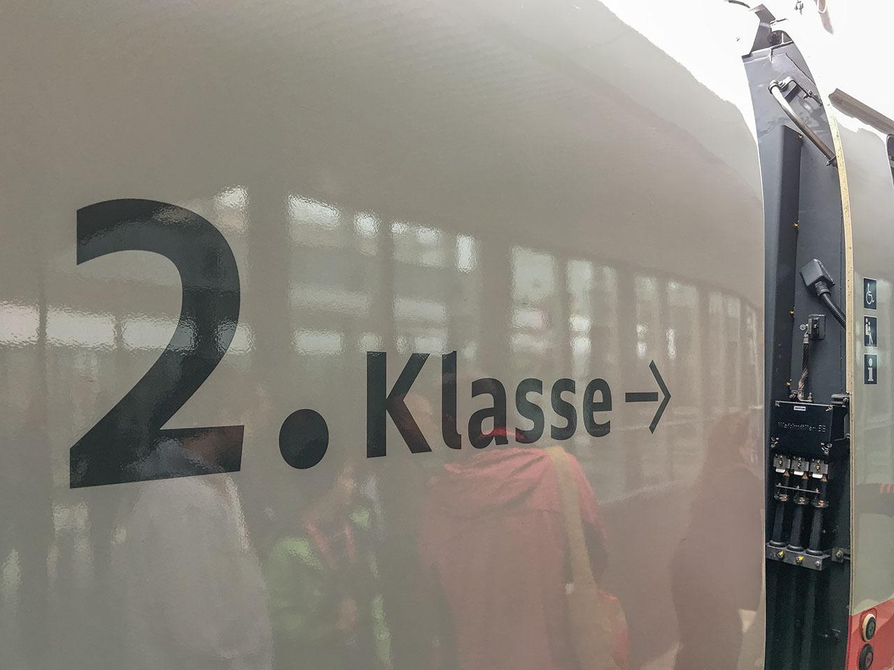 Bahn Sparpreis Klassenübergang