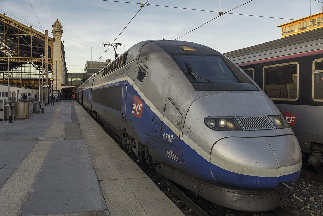 Zug Frankfurt Marseille