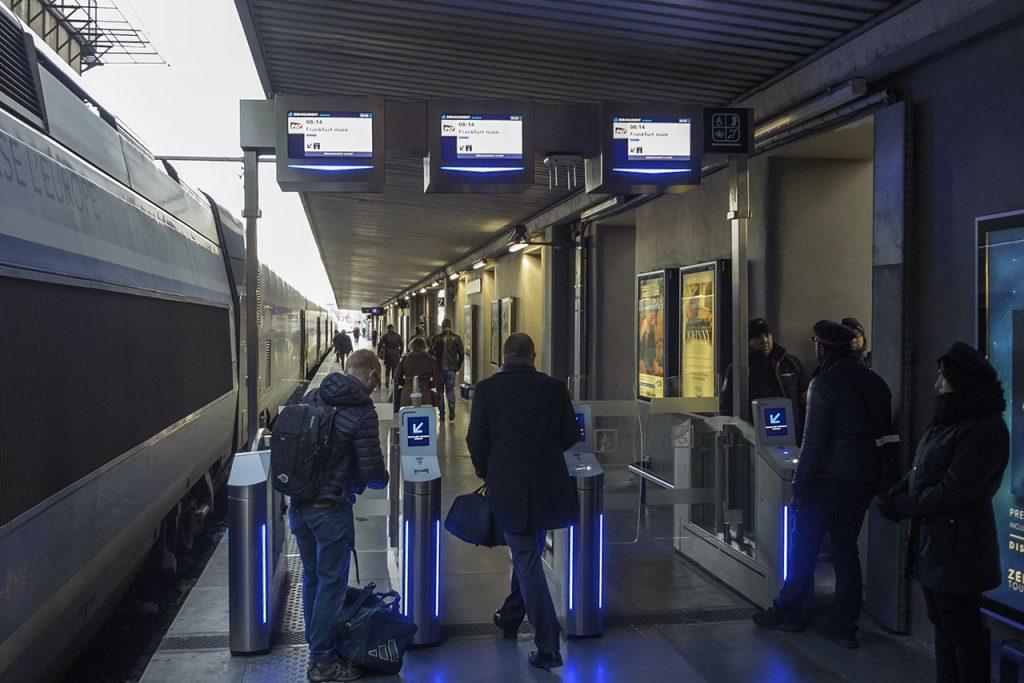 Zug Nach Marseille