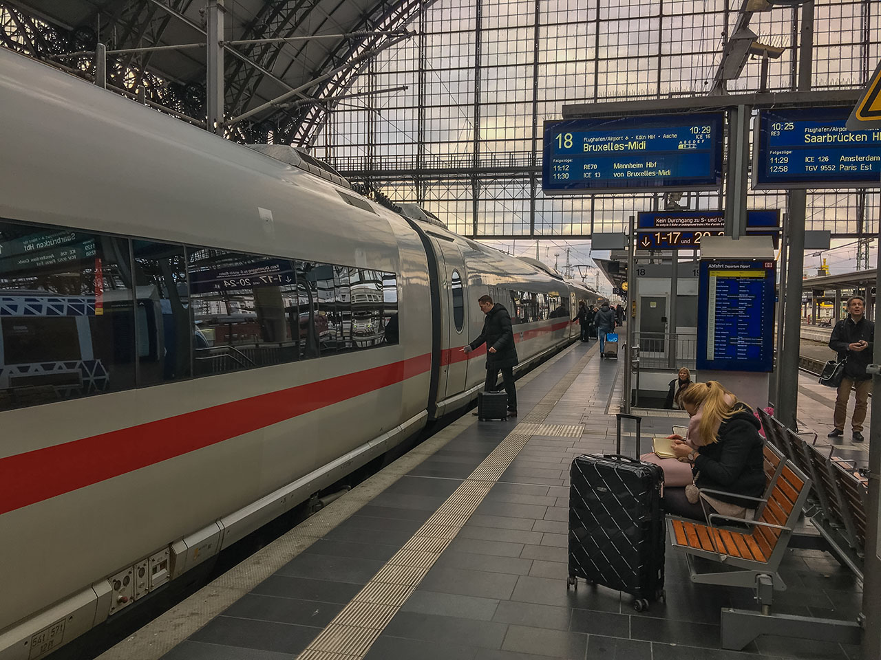 Bahn Ticket Brüssel