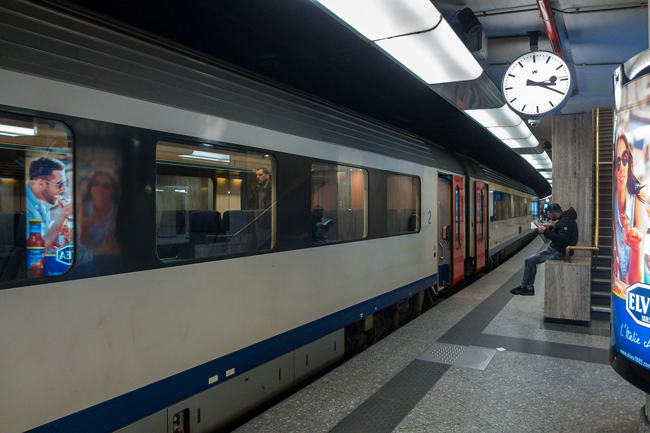 Interrail Brüssel