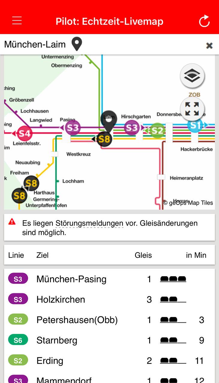 München Navigator Live-Map