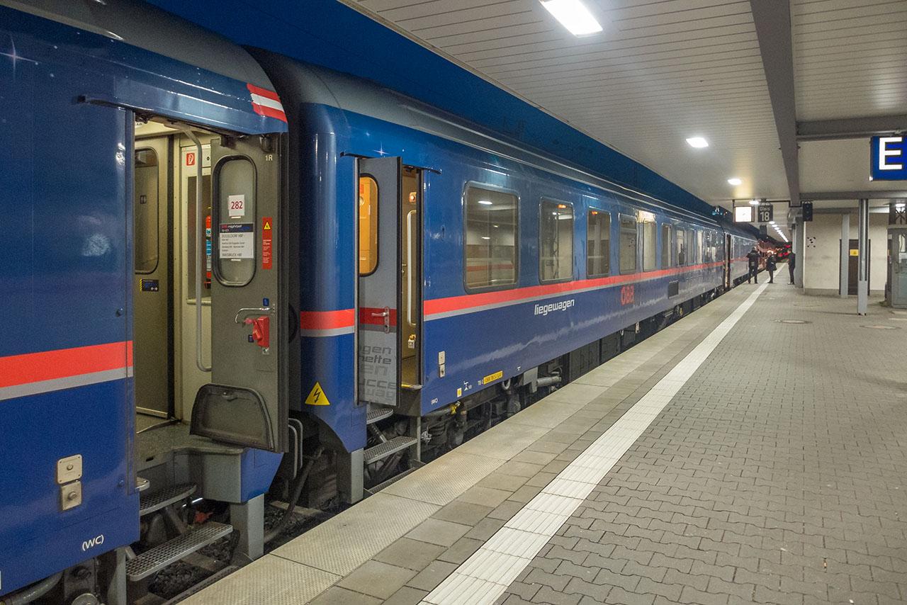 Nachtzug Brüssel
