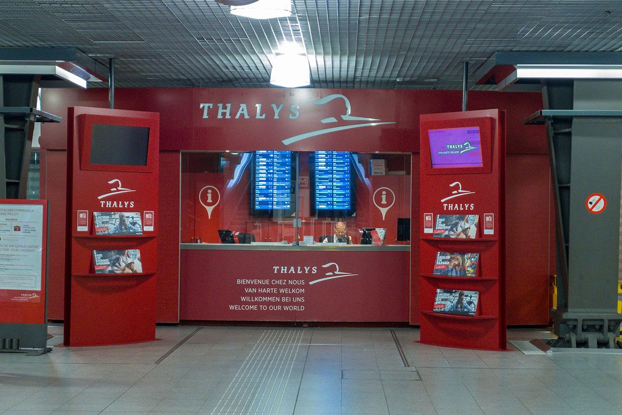 Thalys Ticket Brüssel