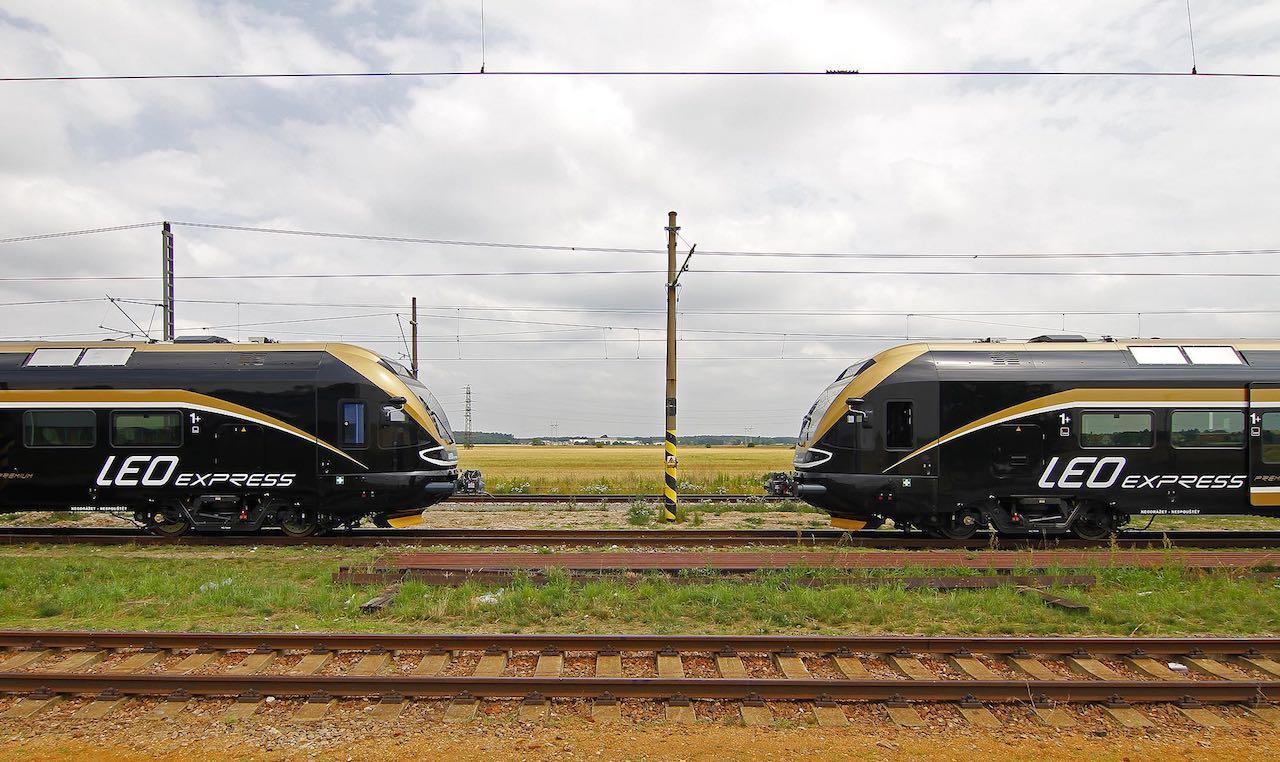 Zug Prag Krakau