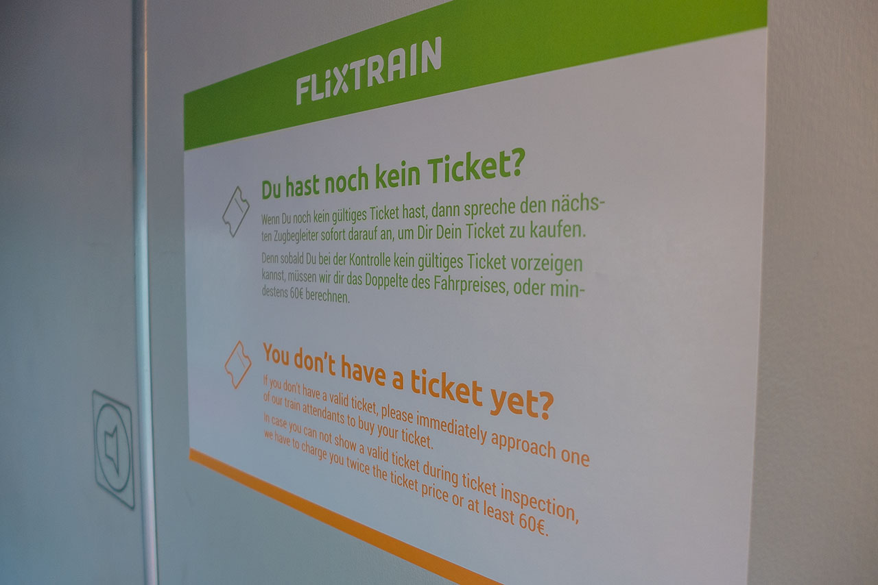 Flixbus Zug Tickets