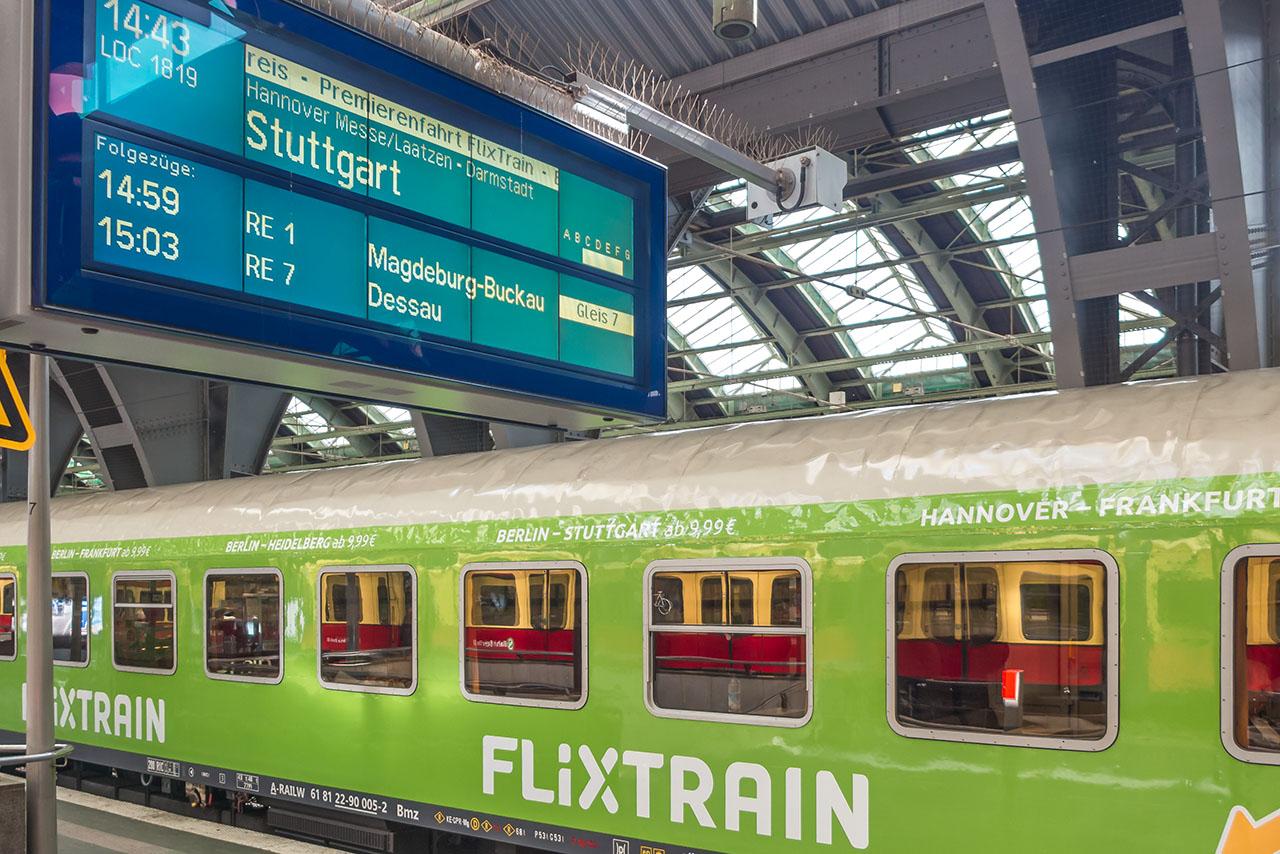 Flixtrain Berlin Stuttgart