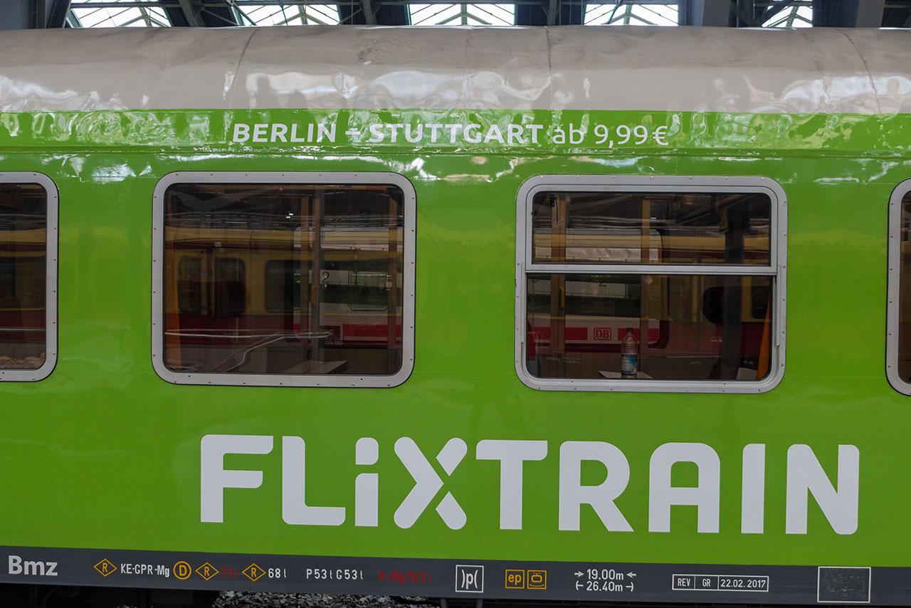 Flixtrain Fahrkarten