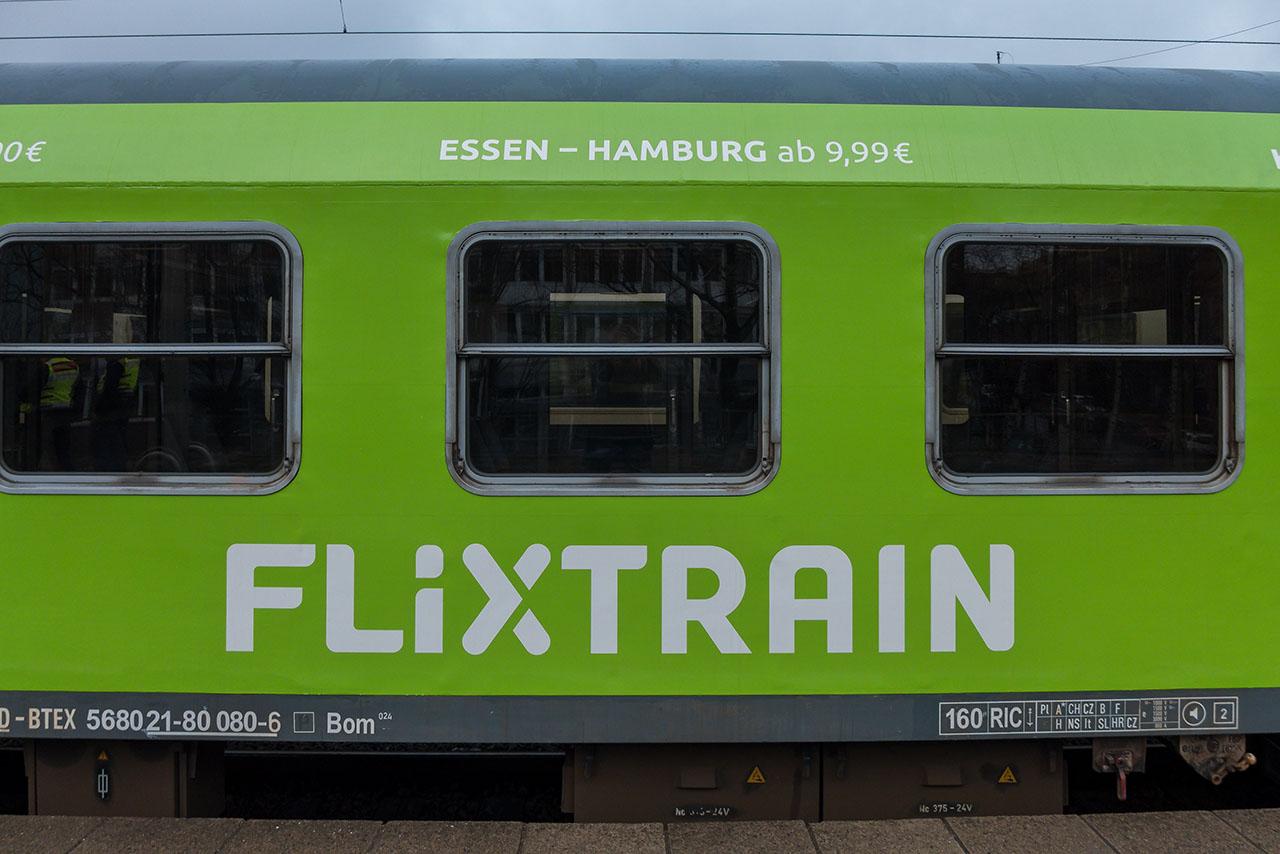 Flixtrain Hamburg Köln