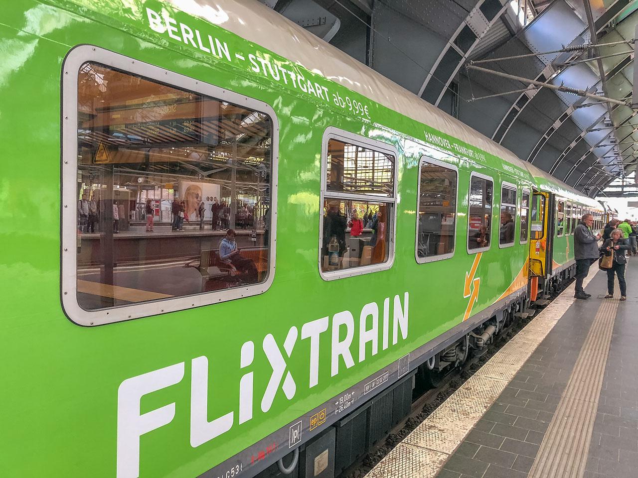 Flixtrain Stuttgart Berlin