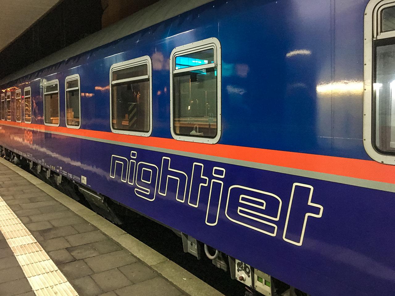 Nachtzug Fahrgastrechte