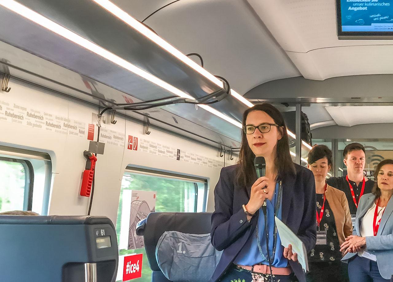 Julia Jaspers Deutsche Bahn