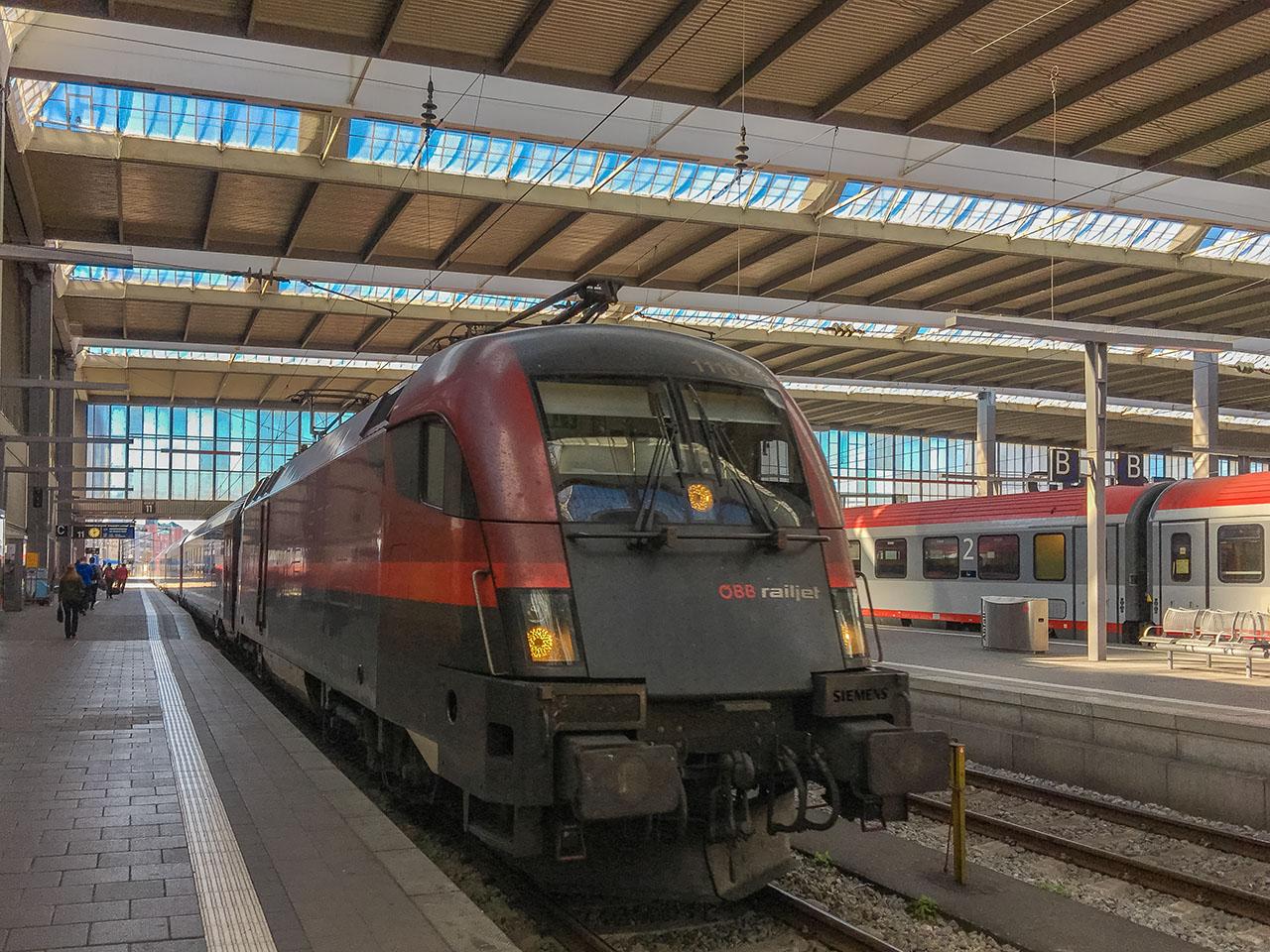 Railjet München Wien