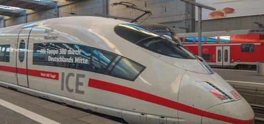 Bahn Flugzeug Marktanteil