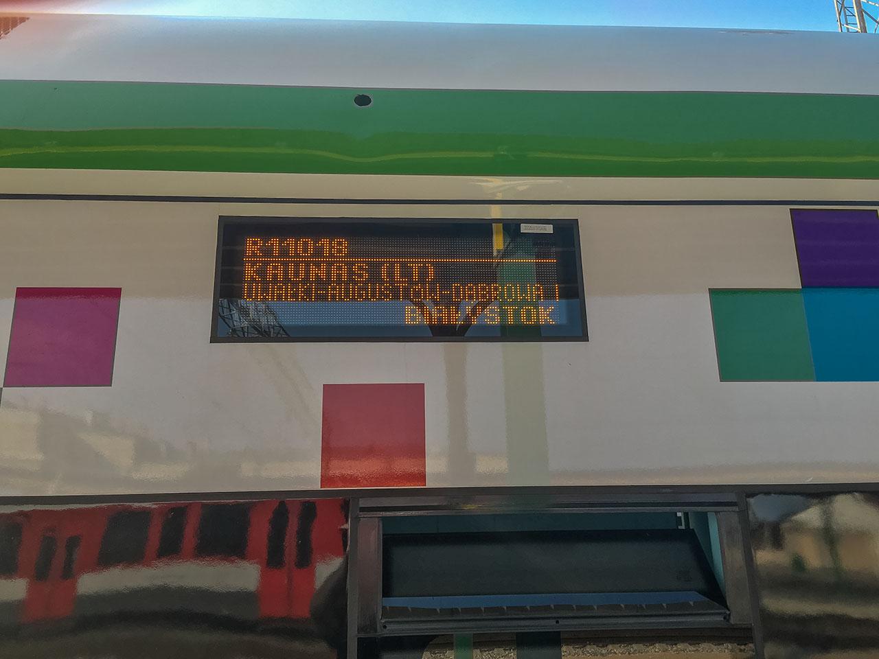 Interrail Litauen