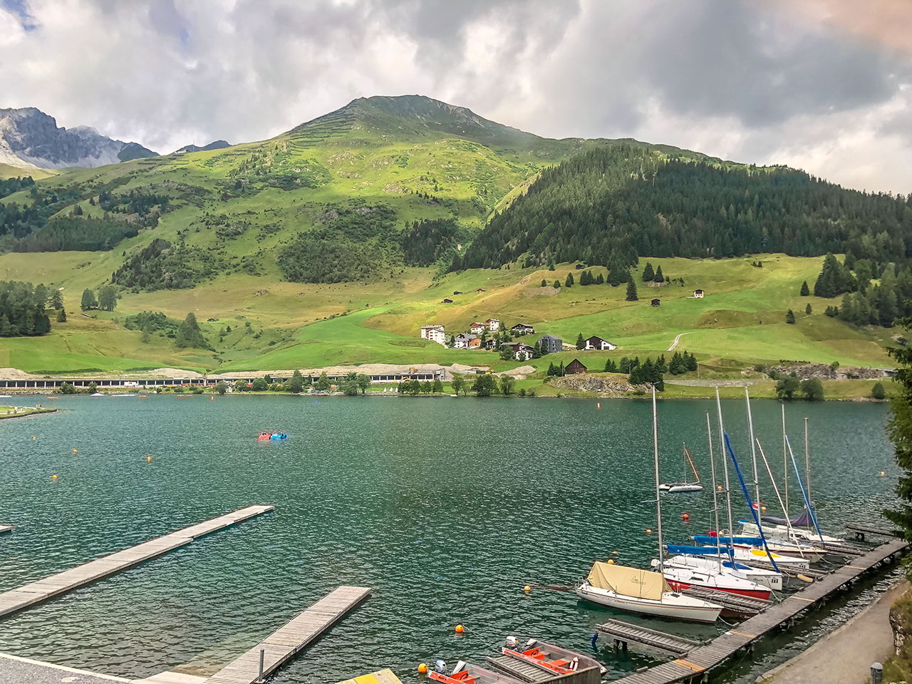 Bahn Davos Schweiz