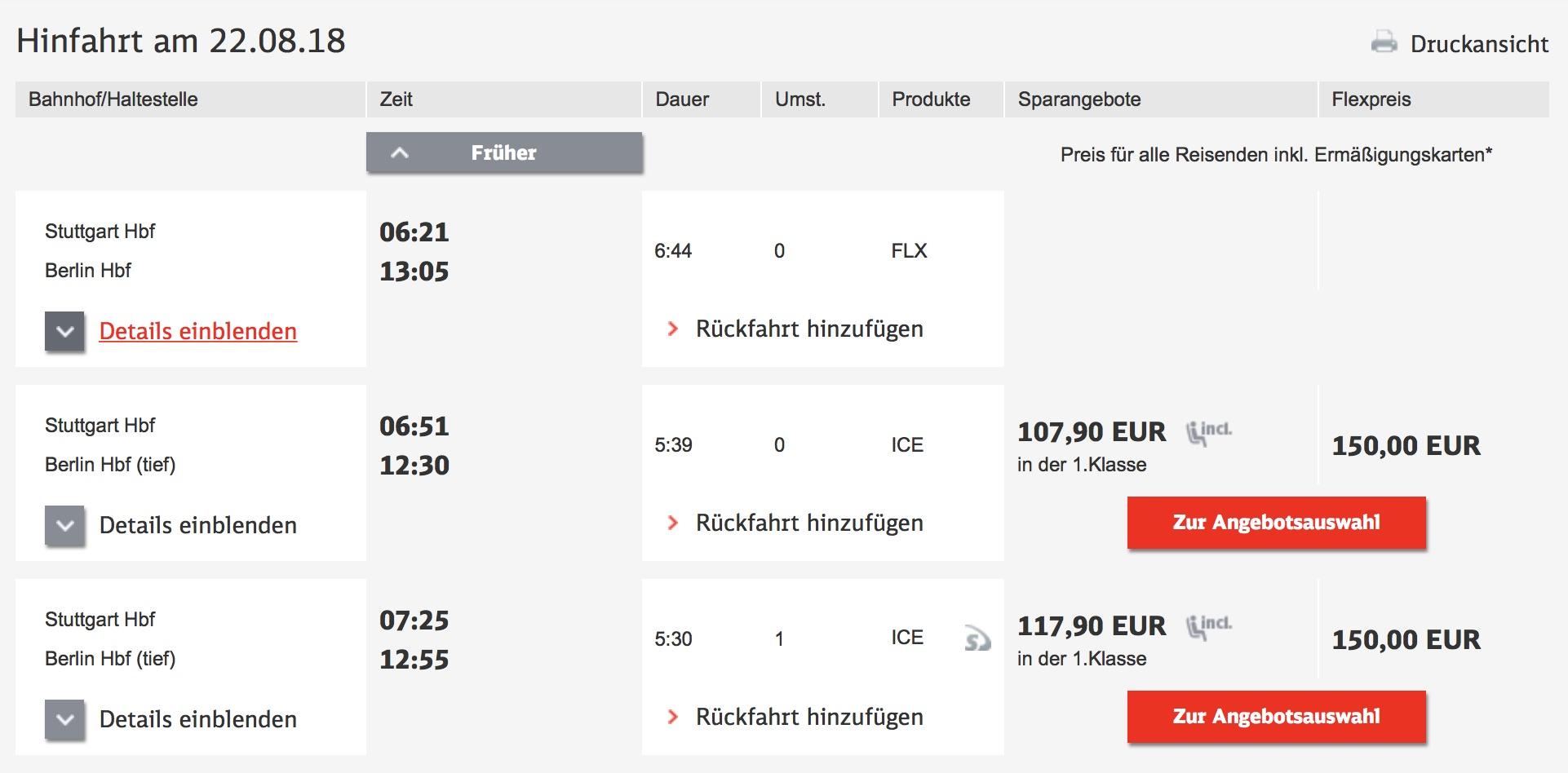 Flixtrain DB Fahrplanauskunft