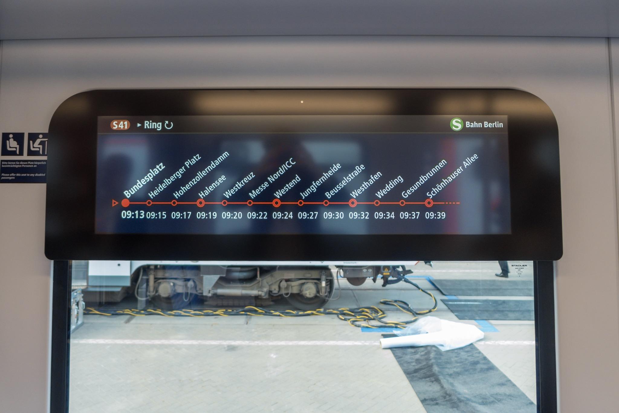 S-Bahn Berlin Fahrgastinformation