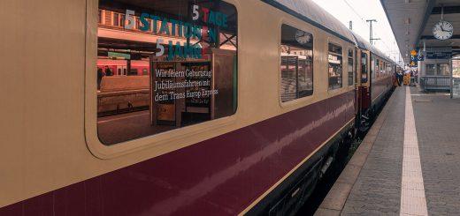 Trans Europ Express Jubiläumsfahrten