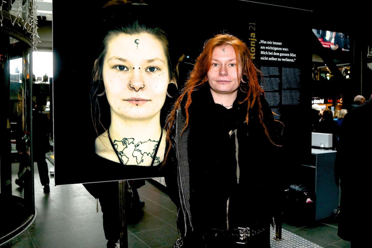 entkoppelt Ausstellung jugendliche Obdachlose