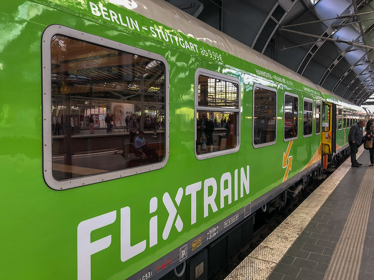Flixtrain Ausland Expansion