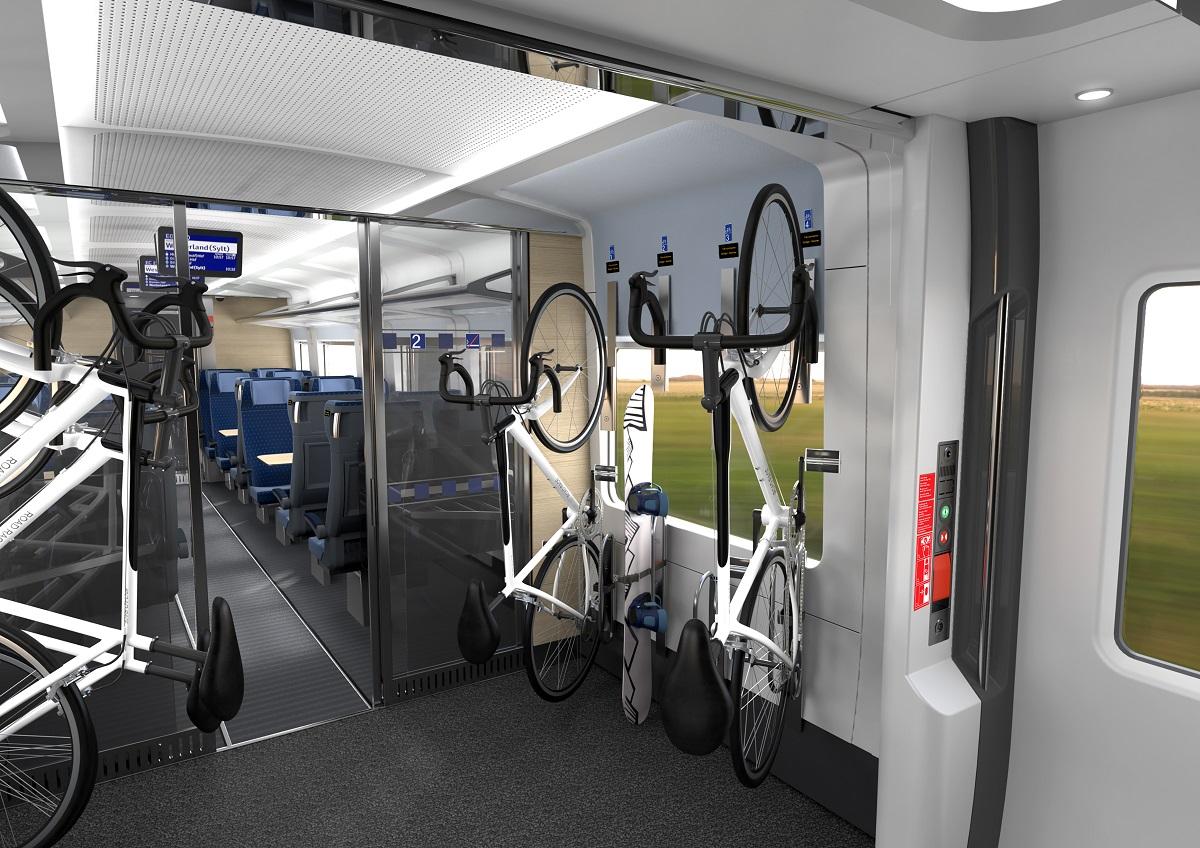 Bahn ECx Ausstattung