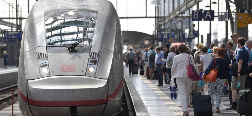 Deutsche Bahn Reisenden-Pünktlichkeit